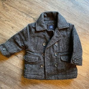 Wool Pea Coat from Baby Gap